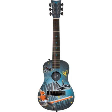 First Act Inc Disney Planes Grey Acoustic Guitar Walmart Com Acoustic Guitar Guitar Acoustic