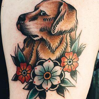 Golden Retriever Tattoo Google Search New Tattoo
