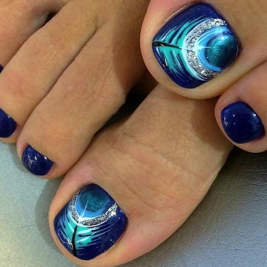 pedicur ideas for summer toenail art designs summer