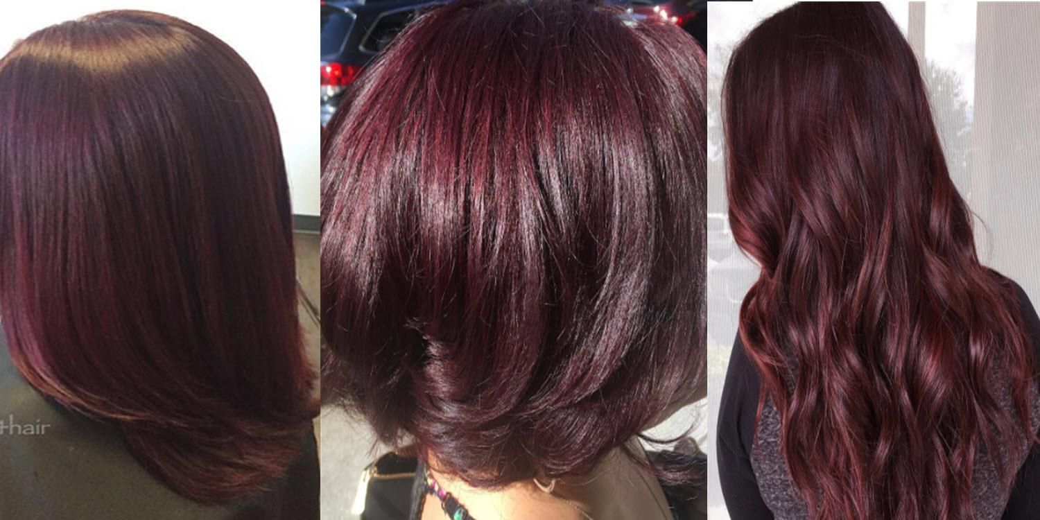 Burgundy Hair Color Looks Best When It S Vivid To Prevent Burgundy Hair Color From Fading Ask Your Hair St Hair Color Burgundy Burgundy Hair Wine Hair Color