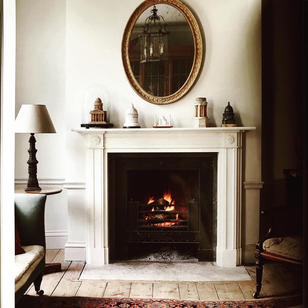 Winter Days Call For An Open Fire Just Like This Wonderfully