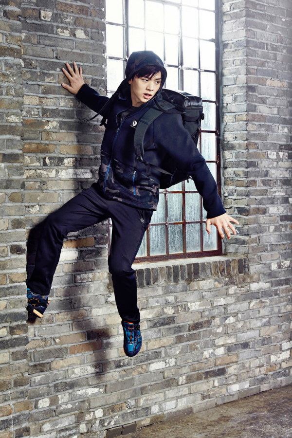 BTOB member Sungjae model for Black Yak