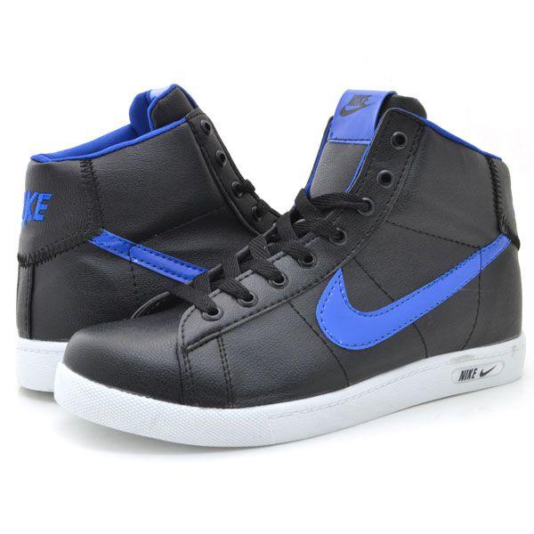 Nike 1212 Siyah Mavi Spor Bot. NikeNike Sneakers