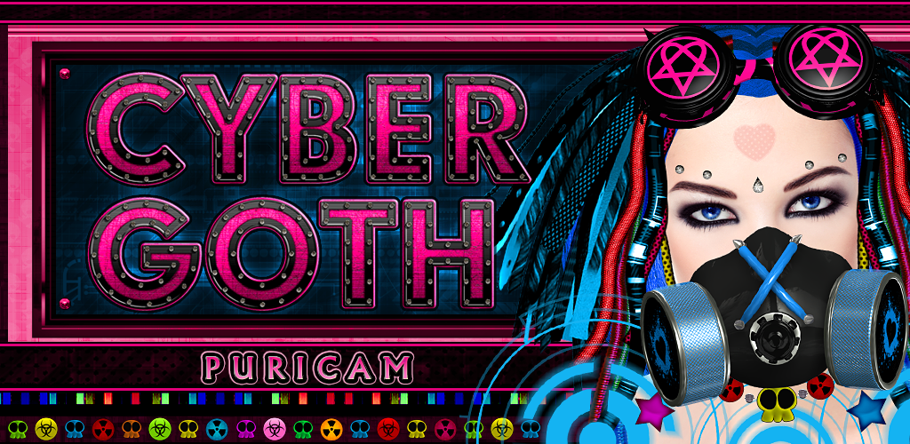 CyberGoth Puricam Mask pictures, Mobile shop, Cybergoth