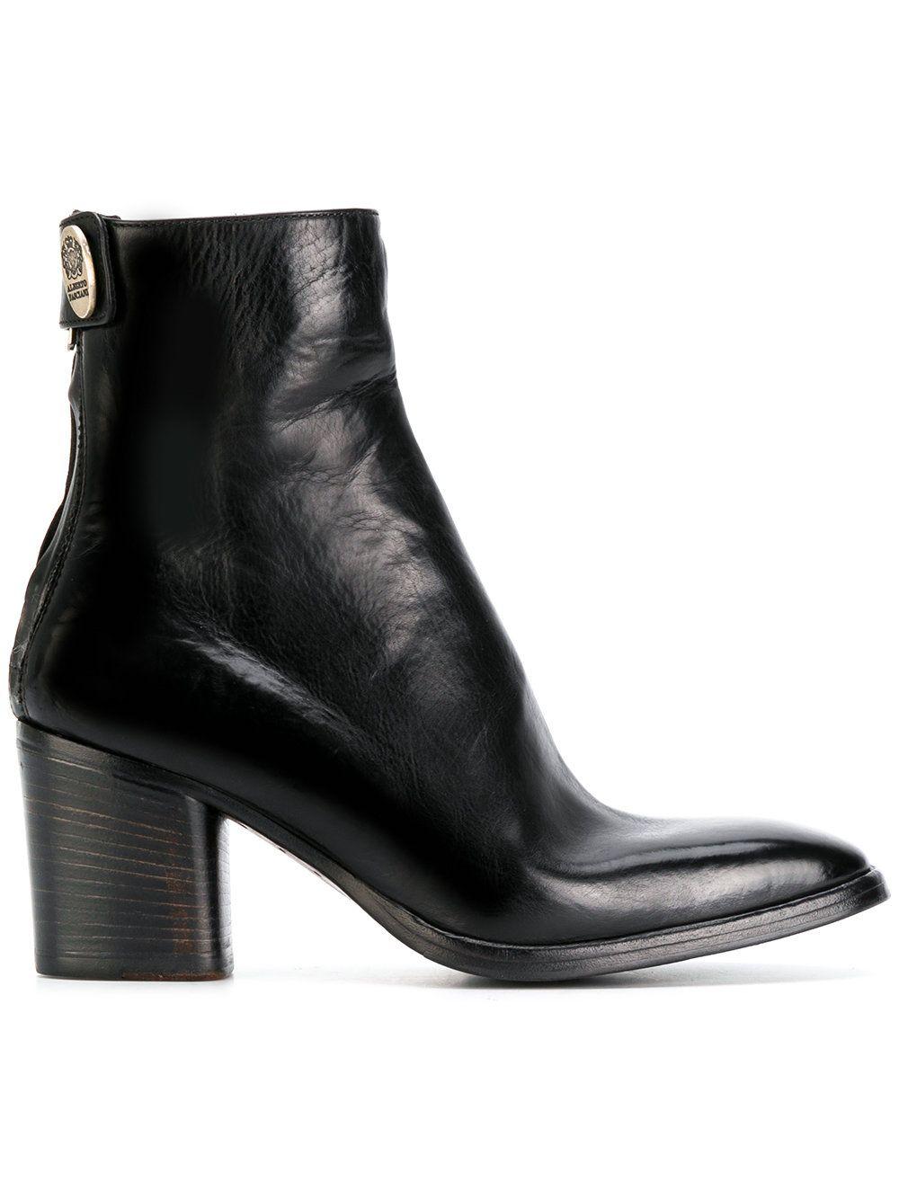 ALBERTO FASCIANI Mid heel ankle boots C4DF8Z