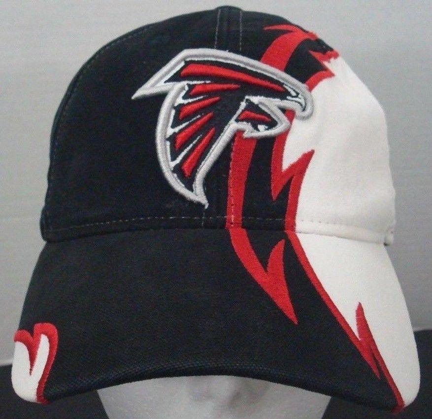4e20d479 Atlanta Falcons NFL Reebok Hat Embroidered Logo Adjustable Strapback ...