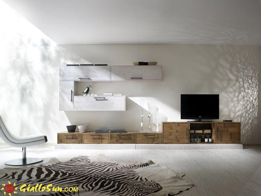 Muri mobili ~ Mobili etnici arredamento etnico parete infinity giallosun
