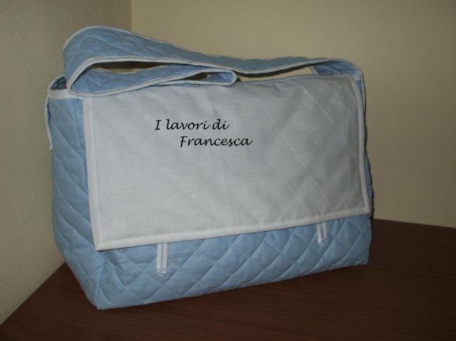 Borsa neonato - celeste - Dall'album di Francesca0580