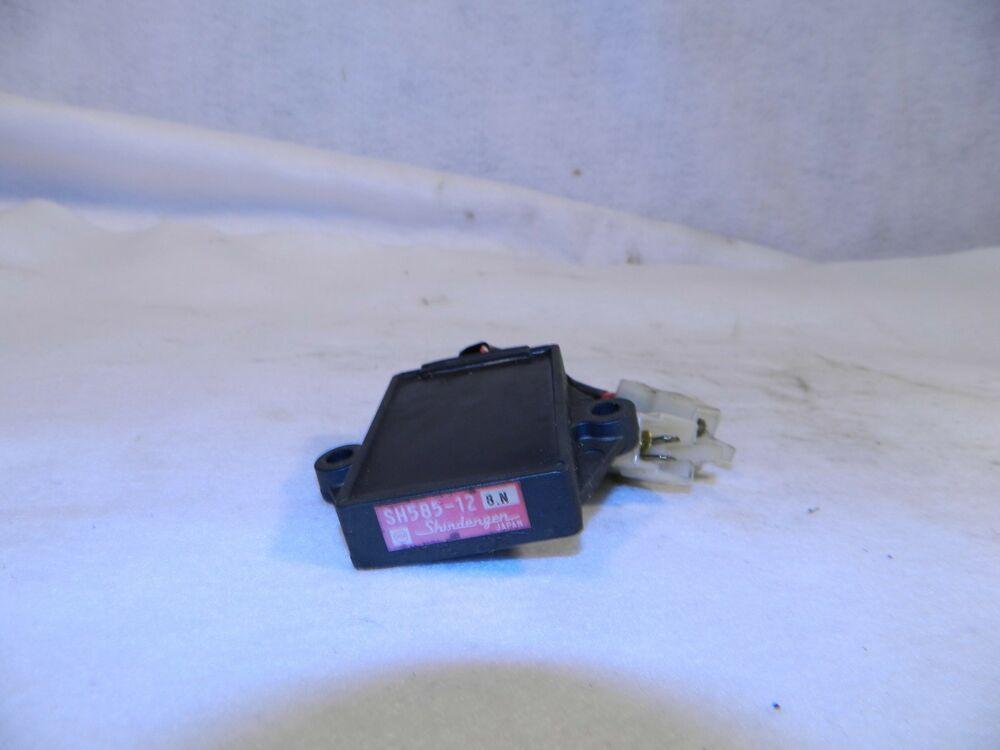 1990 Honda Vtr250 Interceptor 250 Sh585 12 Voltage Regulator Ecu Vtz Brain Box Oemhonda199090 Interceptor Voltage Regulator Ecu