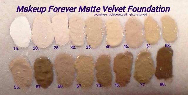 Makeup Forever (M.U.F.E) Mat Velvet Foundation + Makeup