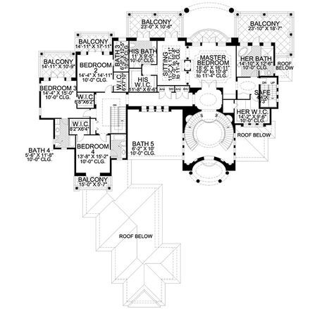 One-of-a-Kind - 32074AA | 2nd Floor Master Suite, Butler Walk-in Pantry, CAD Available, Florida, Luxury, MBR Sitting Area, Mediterranean, Multi Stairs to 2nd Floor, PDF, Photo Gallery, Premium Collection, Spanish | Architectural Designs