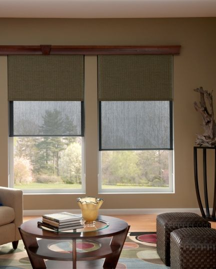 Dual Roller Shades Gives You The Option Of Using A Solar Shade To Reduce Glare Heat During Day And Blackout When Need Privacy