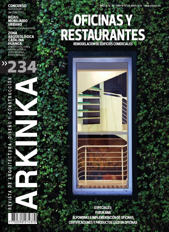Revista arkinka 234 mayo 2015 for Revistas de arquitectura online