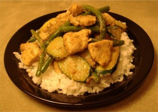 Honey-Mustard Chicken Stir-Fry Recipe - Food.com