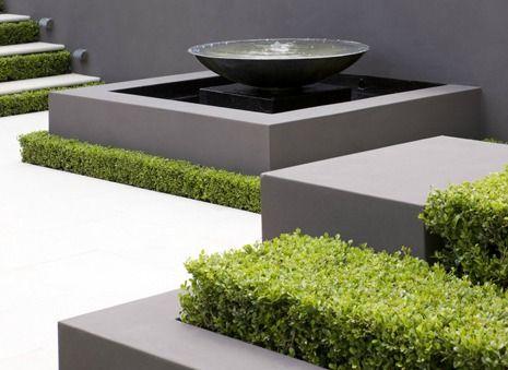Modern Water Features In The Garden Outdoor Water 400 x 300