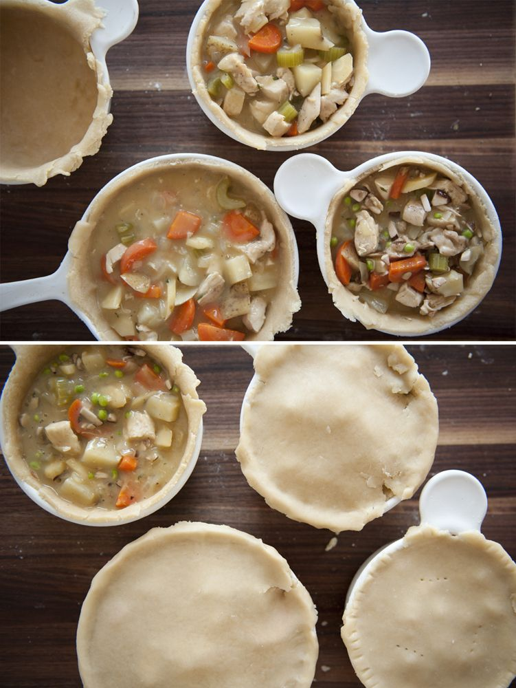 Chicken Pot Pie - the perfect winter comfort food. Photos and recipe through the link.