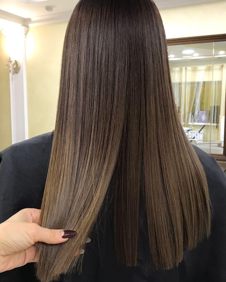 Pin Megan Braune Haare Frisuren Haarfarben Lange Haare
