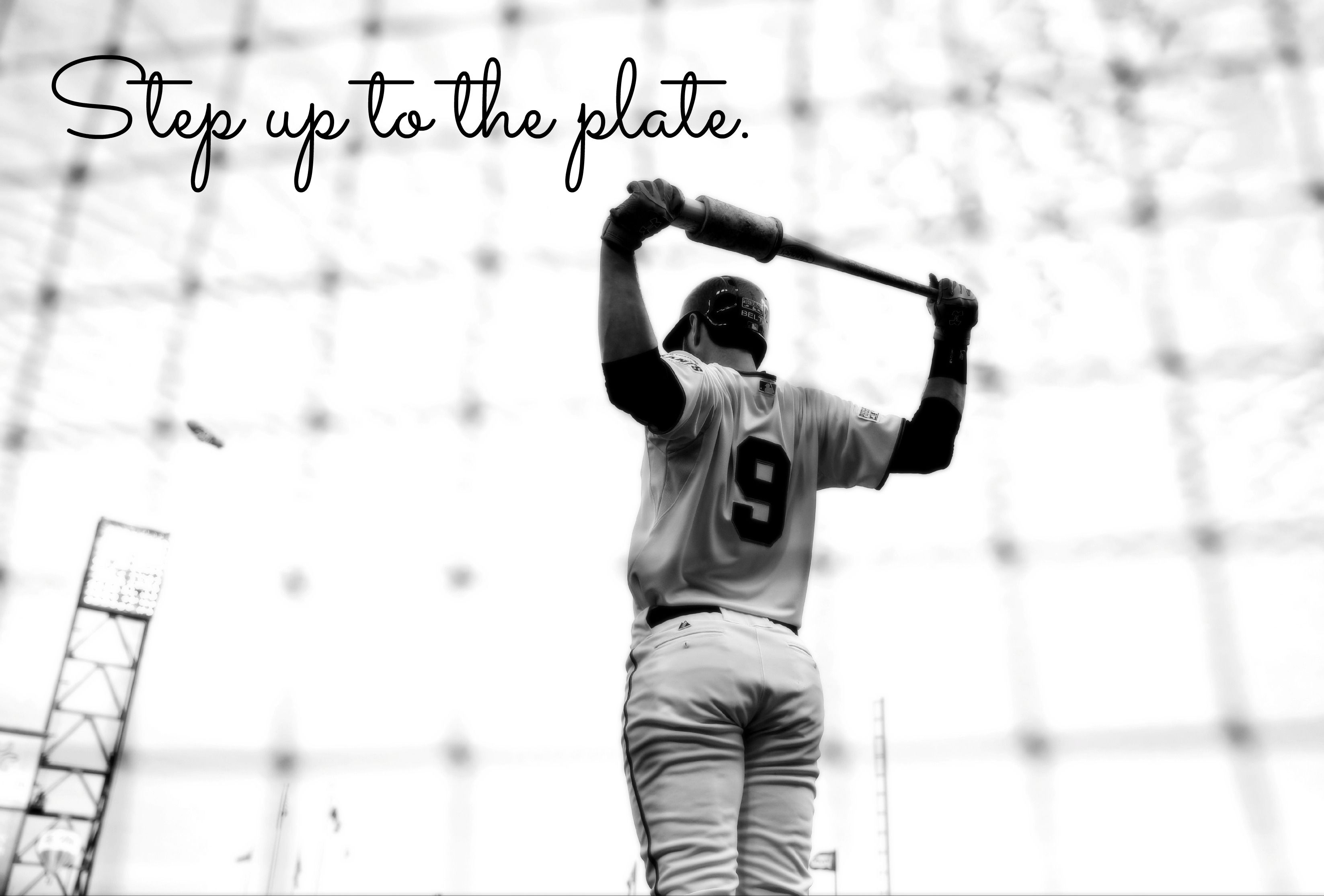 Step up to the plate.  sc 1 st  Pinterest & Step up to the plate.   Take Me Out to the Ball Game...   Pinterest ...
