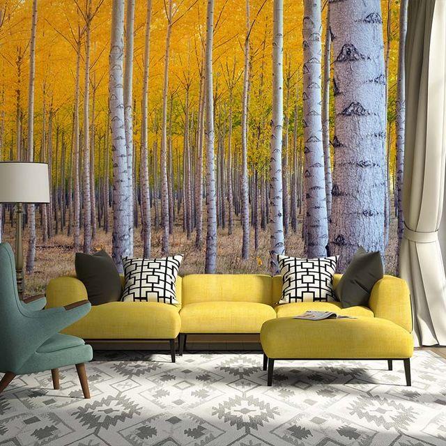 Personnalisé photo peintures murales de papier peint 3d nature