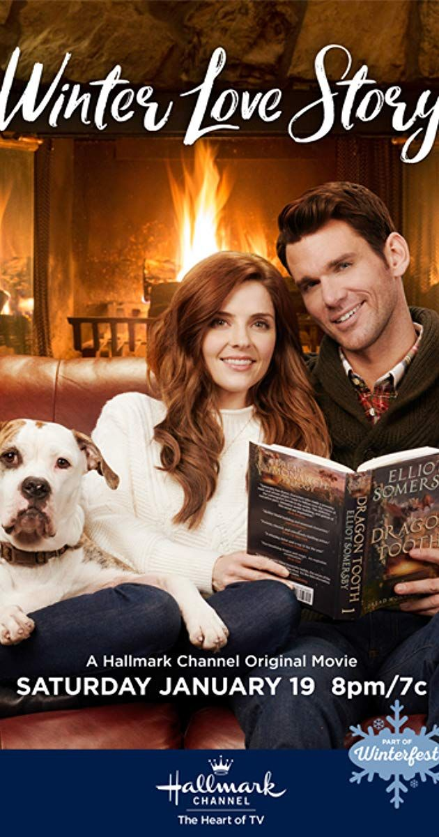 Winter Love Story 2019 Kevin McGarry and Jen Lilley