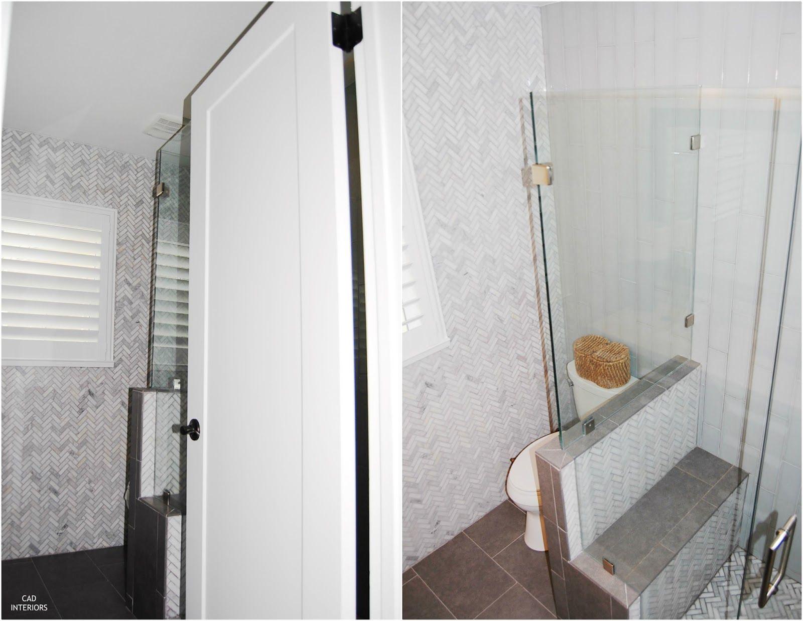 Bathroom Design Companies Alluring Cad Interiors_Main Bathroom Renovation_Pony Wall  Cad Main Design Decoration