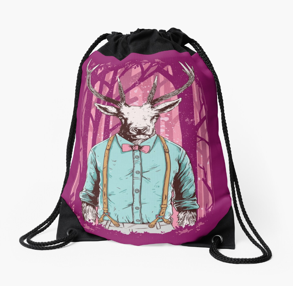Unique and Fun Drawstring Bag