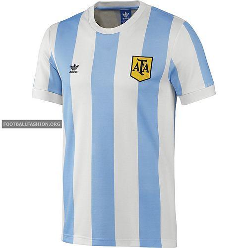 experimental boleto cascada  Argentina 1978 adidas Originals Retro Jersey | Camisas retro futebol,  Camisa de futebol, Camisa retro