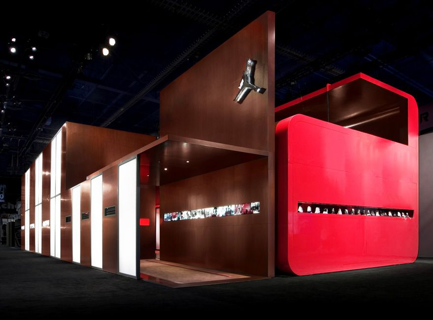 Nike Brand Jordan Trade Show Exhibit By Premier Displays Exhibits Inc