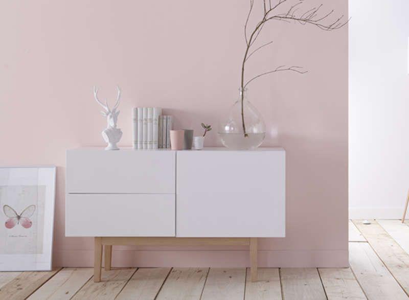 buffet design blanc bois buffet design bois blanc et copenhague. Black Bedroom Furniture Sets. Home Design Ideas