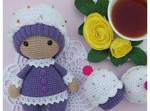 Amigurumi Doll Gratuit : Amigurumi cupcake baby free pattern ami tutoris pinterest