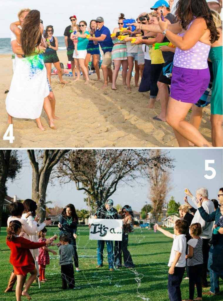 16 Awesome Gender Reveal Ideas From Registryfinder Com Baby Gender Reveal Gender Reveal Reveal Ideas