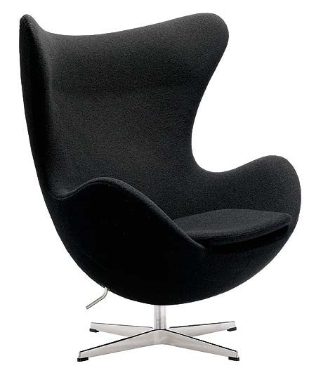 The Black Egg By Jenny. Swivel Chair ...