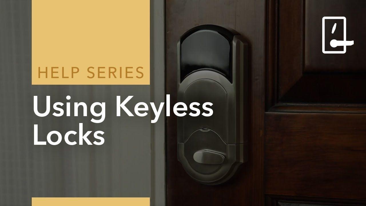 Remote Access With Keyless Door Locks On Adt Pulse Keyless Door Lock Keyless Locks Adt