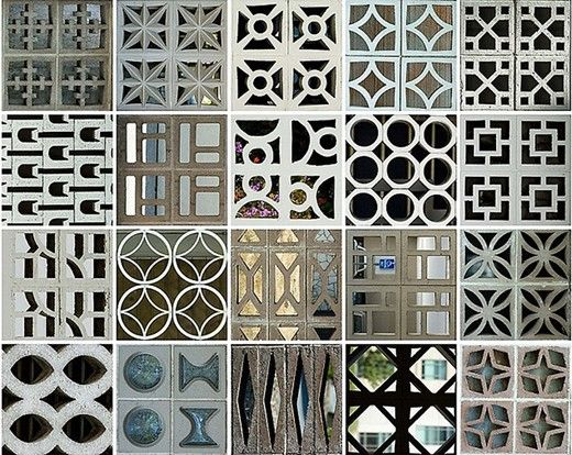 Patterns In The Everyday Breeze Blocks Concrete Decor Breeze
