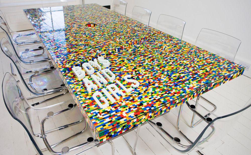 Creatieve Decoratie Ideeen.Creatief Met Lego Meubels En Decoratie Van Lego Blokjes Met