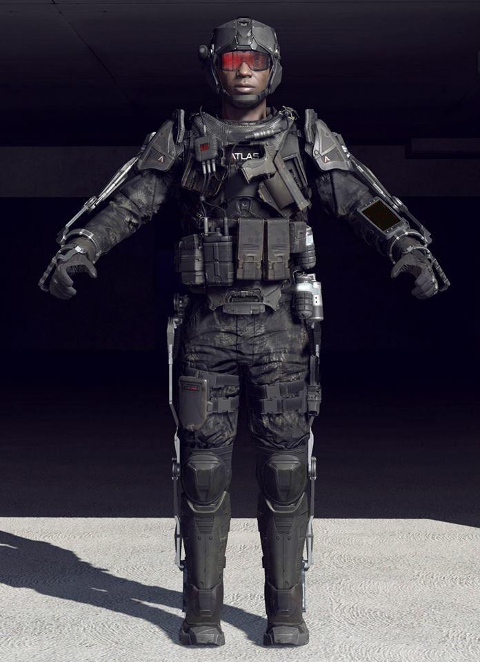 Advanced Warfare Atlas Exoskeleton Character Models Exoskeleton Suit Advanced Warfare Future Soldier
