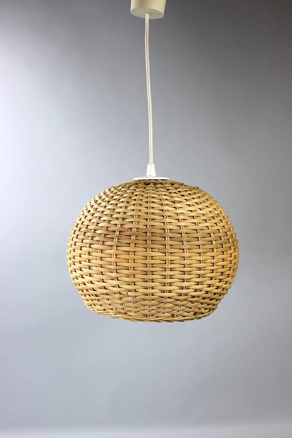 Vintage Basket Lamp Ball Lamp Hanging Lamp Kitchen Lamp Lamp