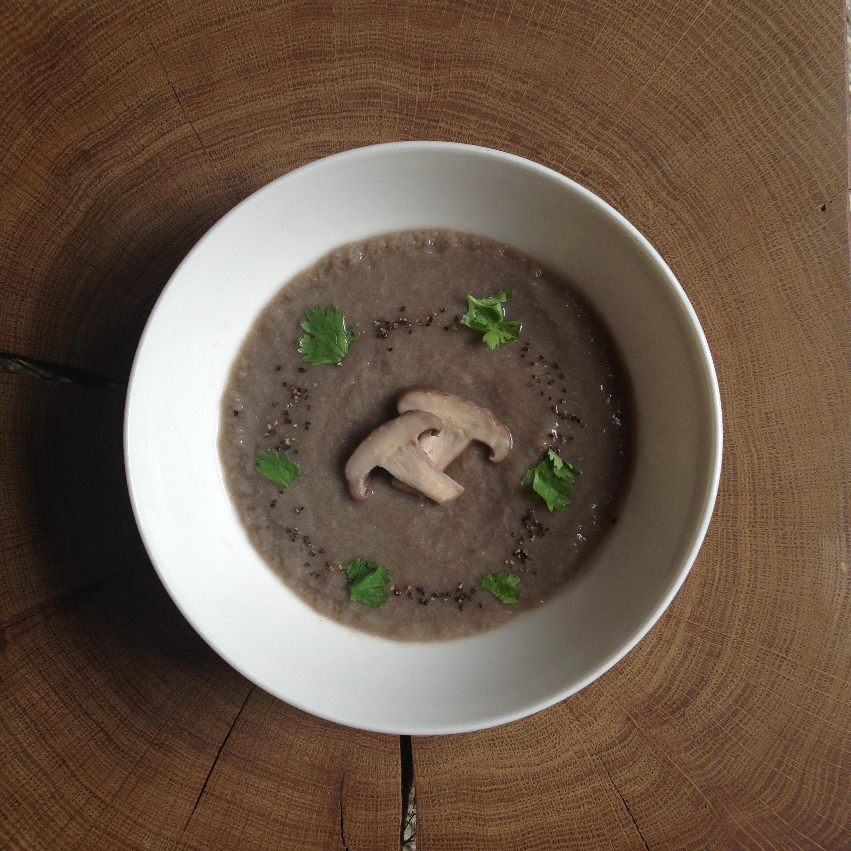Real Mushroom Soup