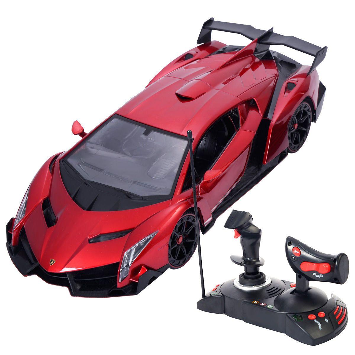 1 14 Lamborghini Veneno Electric Sport Radio Remote Control Rc Car Kids Toy Toys Games Lamborghini Veneno Remote Control Cars Rc Cars