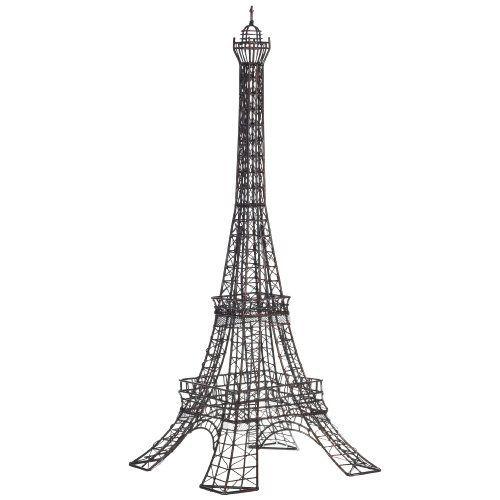 Wire Eiffel Tower Sculpture, Metal by Zodax,   www
