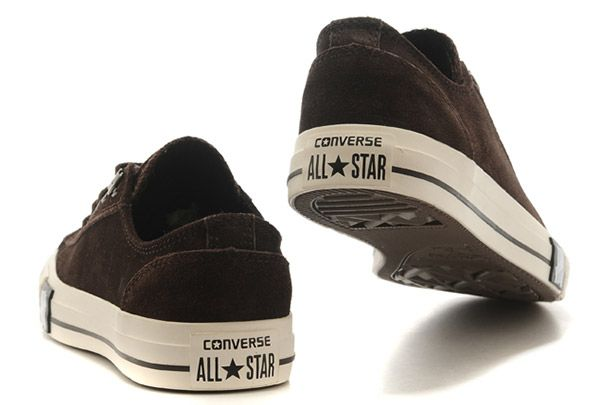 converse shoes brown suede slip on shoes