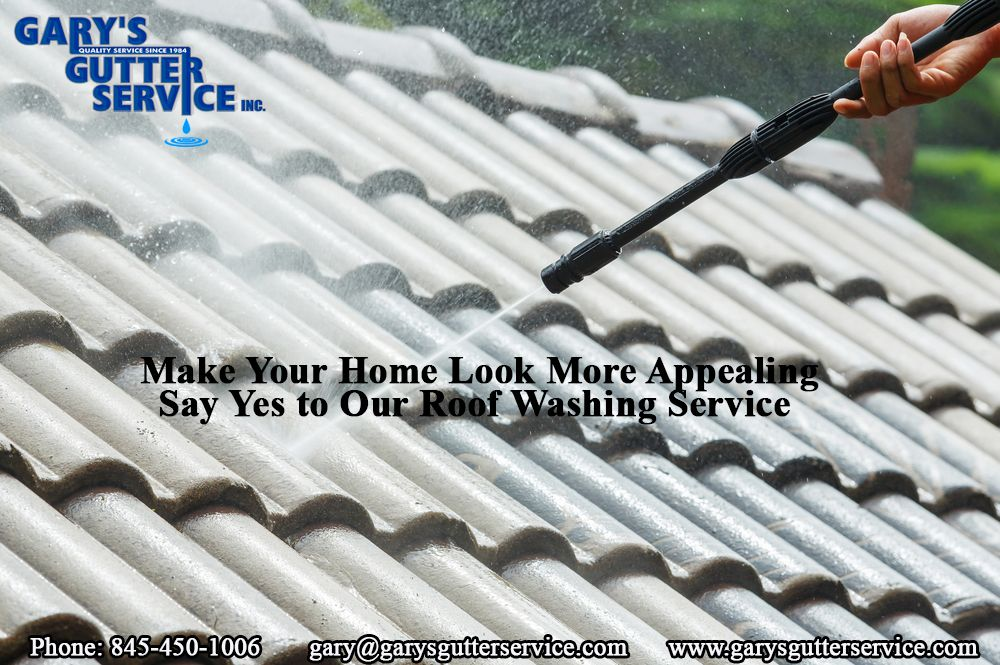Make Your Home Look More Appealing Say Yes To Our Roof Washing Service Roof Restoration Roof Cleaning Roofing