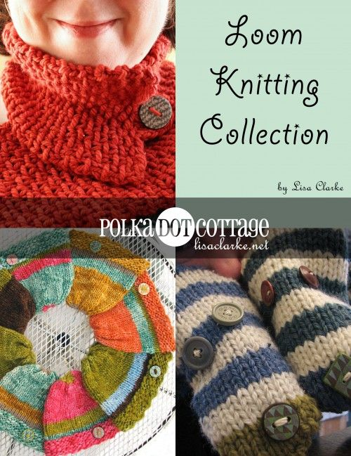 Last-minute loom-knitted gifts loom knitting scarf and video ...