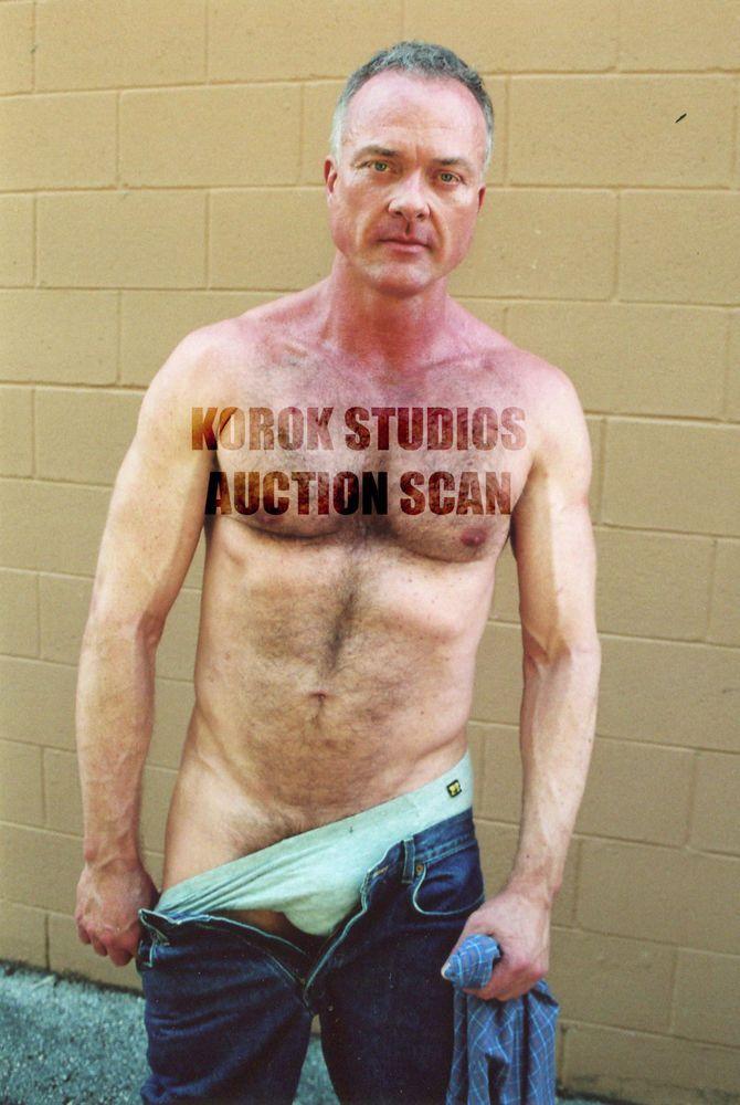 Nude man on top having sex