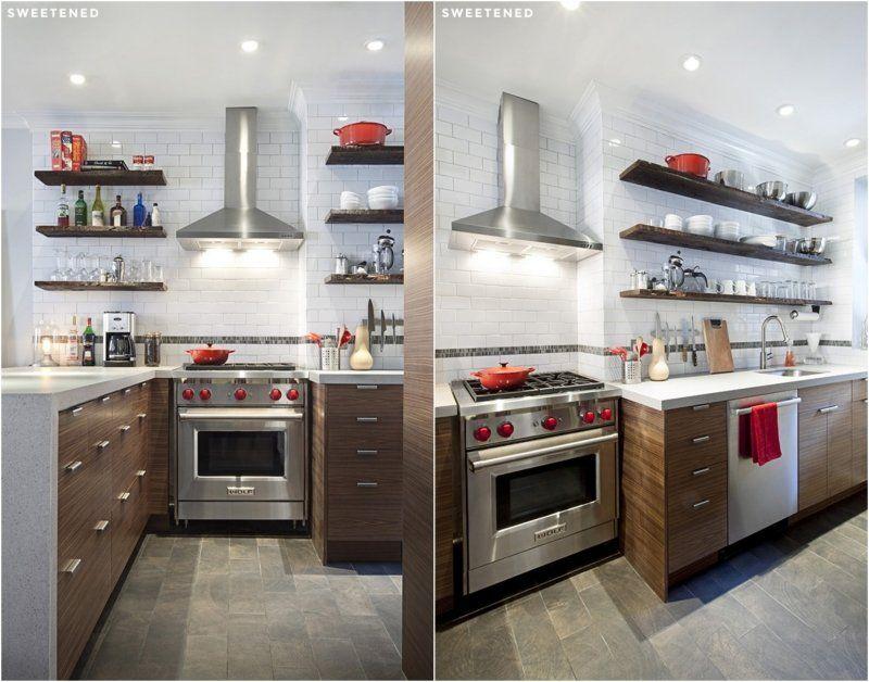 Rénovation cuisine et salle de bains \u2013 photos avant/après Kitchen