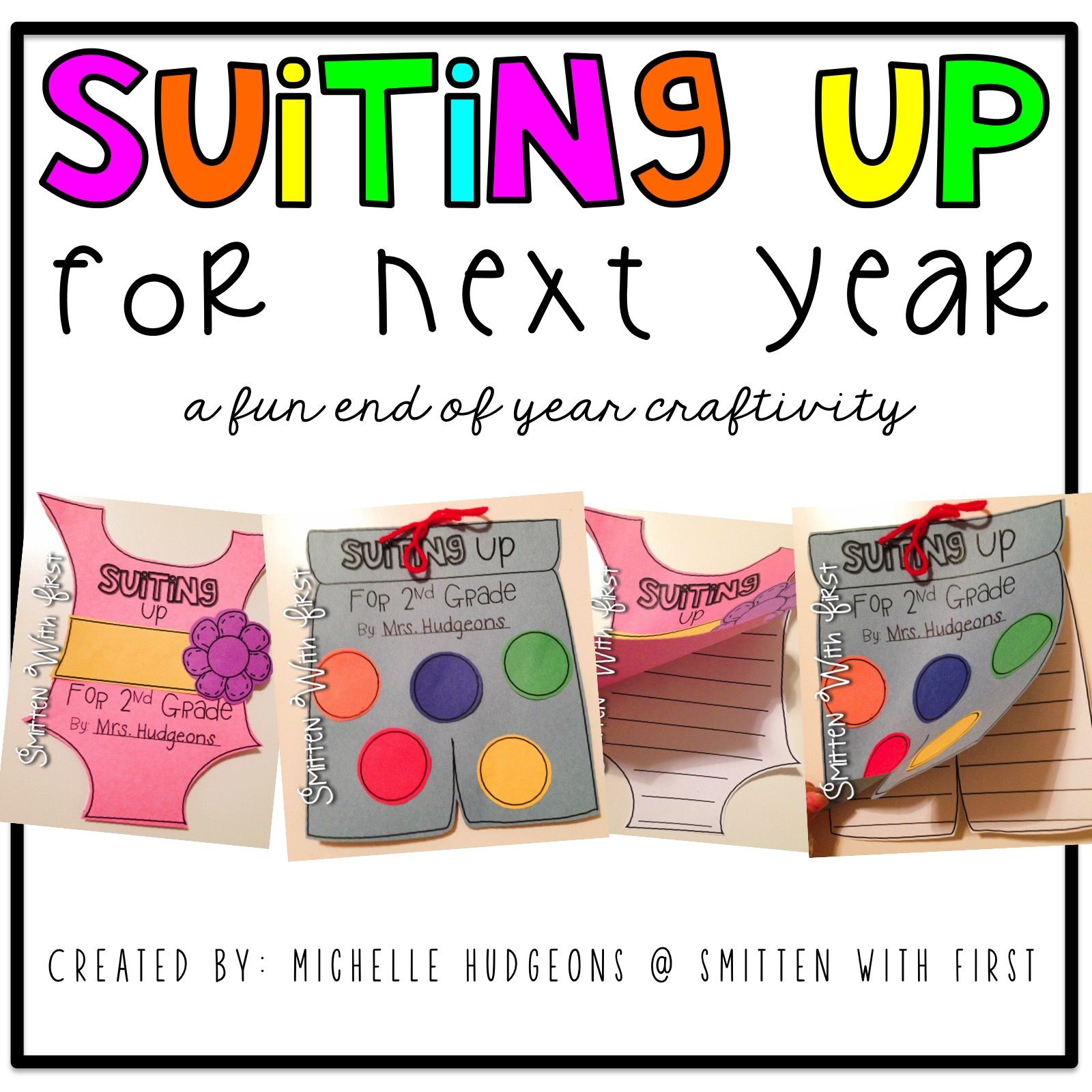 Blog Hoppin': Suiting Up for Next Year!