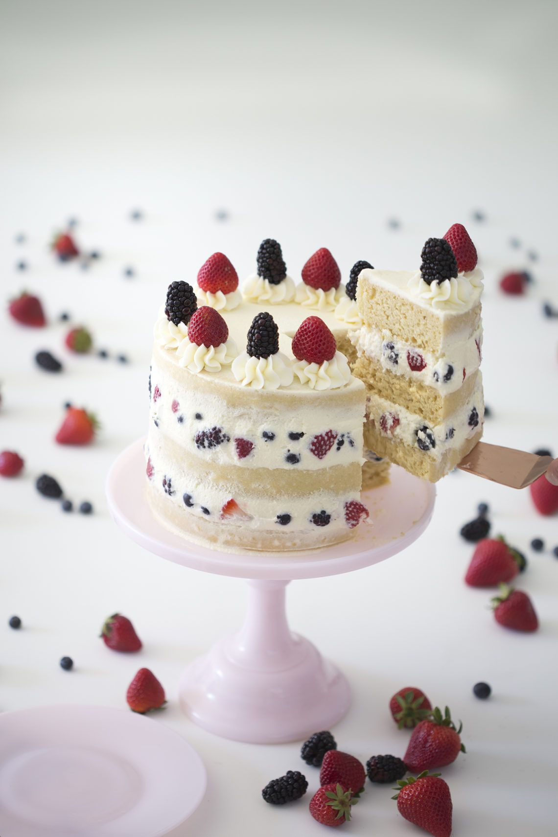 Berry Cake Preppy Kitchen Cakes Pastries In 2019