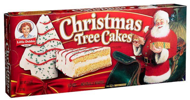 Vanilla Christmas Tree Cakes