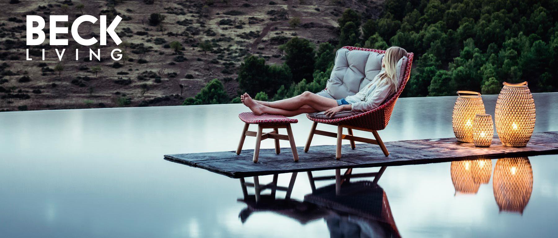 Exklusive Terrassenmöbel beck living exklusive gartenmoebel terrassenmoebel wellnessmoebel