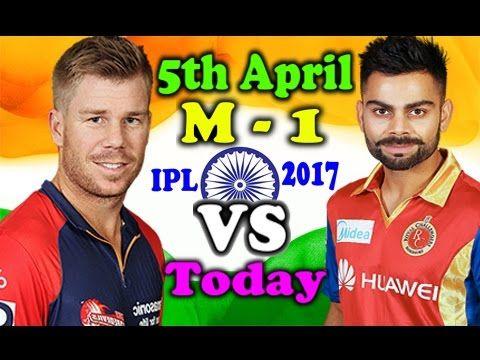 by Sports Nation 4U · IPL Today Match 2017 - Match NO 1 - RCB vs SRH 2017 1st Match Highlights